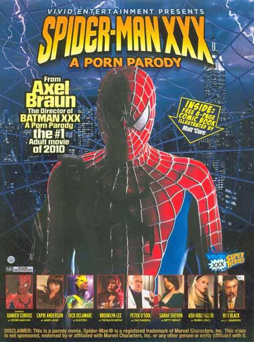 Porno parodia Spider-mana