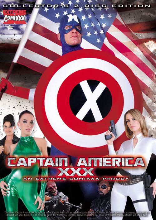 Porno parodia Kapitan Ameryka