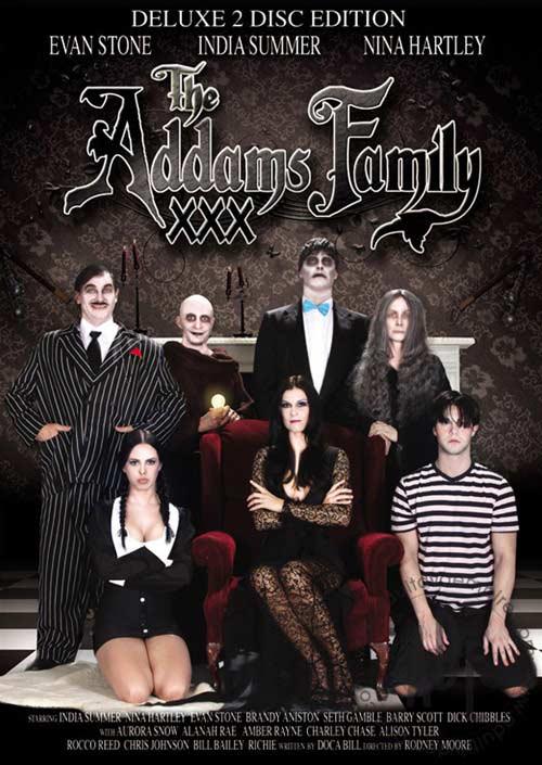 Porno parodia Rodziny Addamsów