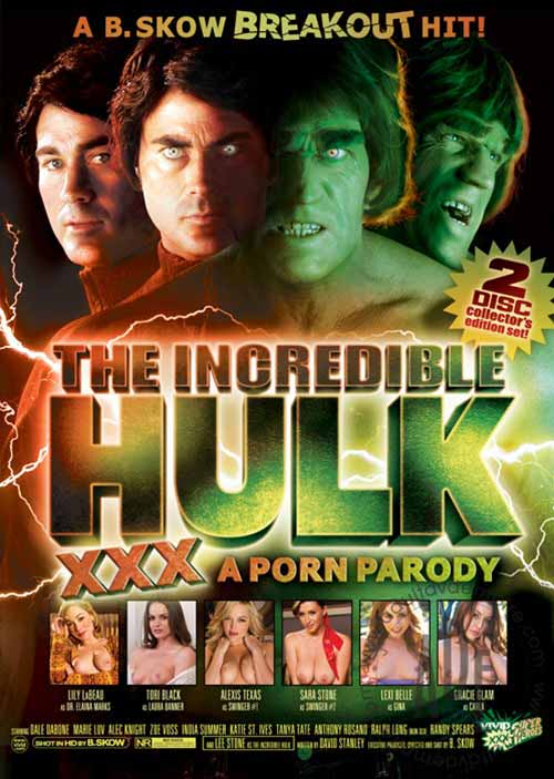 Porno parodia Hulka