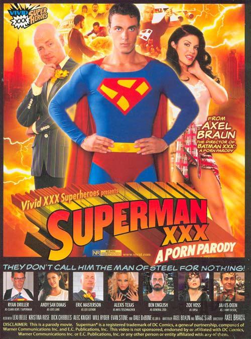 Porno parodia Supermana