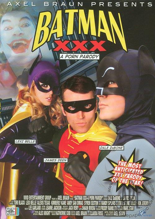 Recenzja porno parodii Batmana