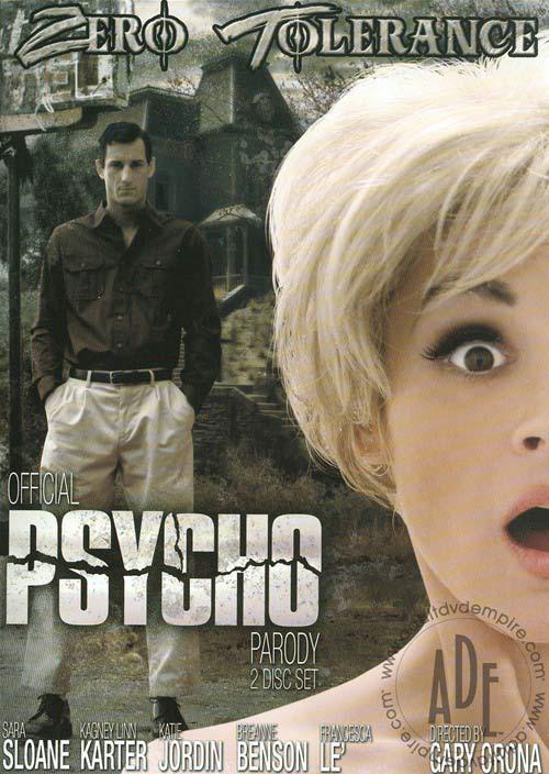 Recenzja porno parodii Psychozy