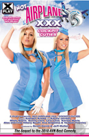 Film porno Not Airplane XXX: Cockpit Cuties