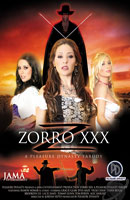 Film porno Zorro XXX: A Pleasure Dynasty Parody