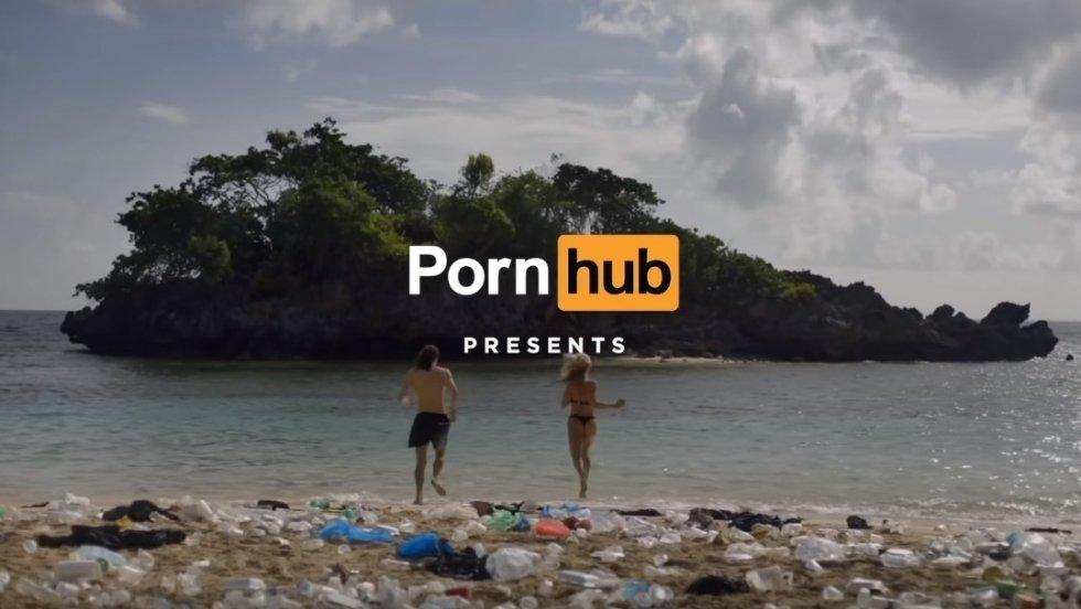 Pornhub nakręcił film porno na rzecz oczyszczania oceanów z plastiku